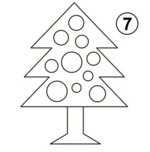 How To Draw Christmas Tree Step By Step - Kids Easy Drawing